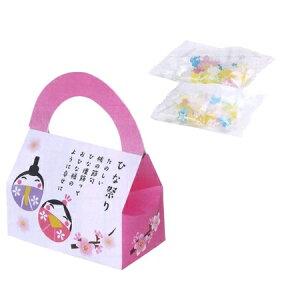 ひなまつりバッグ 金平糖2包入 【ご注文単位 100個以上】