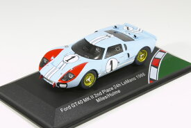 CMR 1/43 フォード GT40 MK II #1 第2回 24h Le Mans 1966 映画『フォードvsフェラーリ』2020年1月公開 Ford GT40 MK 2 No.1, The Real Winner 24h Le Mans 1966 Miles/Hulme aus dem Film Le Mans 66