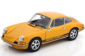 シュコー 1/18 ポルシェ 911 S クーペ 1973 ゴールデンメタリック 911台限定 Porsche Coupe golden-metallic Limited Edition 911 pcs