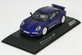スパーク 1/43 ポルシェ 911 (991) カレラ 4S ブルーポルシェ・ディーラー特注 ポルシェファンモデル 991台限定
