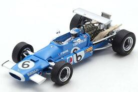 スパーク 1/43 マトラ MS11 イタリアGP 1968 ブルー Spark 1:43 Matra MS11 GP Italy 1968 Beltoise blue
