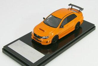 WIT'S 1 / 43 Subaru Impreza WRX STI tS Type RA NBR Orange pearl 2013 4 door W15