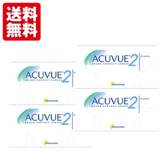 Johnson & Johnson 2WEEK ACUVUE 4boxes (6pieces per box) 2week replacement contact lens