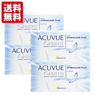 Johnson & Johnson ACUVUE OASYS 4boxes (6pieces per box) 2week replacement contact lens