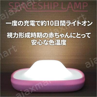 【送料無料】スマホ連動多機能LEDランプSPACESHIPLAMP(スペースシップランプ)【楽ギフ_包装】
