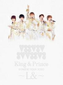 【オリコン加盟店】●初回盤Blu-ray★スペシャルパッケージ仕様★40Pフォトブックレット■King & Prince 2Blu-ray【King & Prince CONCERT TOUR 2020 〜L&〜】21/2/24発売【ギフト不可】
