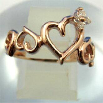 ♦ waCca (Wakka) ♦ 立方 ! 打开心魅力与粉红色的金戒指