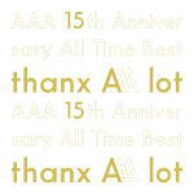 【オリコン加盟店】初回盤[取]★スペシャルパッケージ仕様+特典CD+フォトブック封入■AAA 5CD【AAA 15th Anniversary All Time Best -thanx AAA lot-】20/2/19発売【ギフト不可】