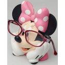 【ディズニーキャラクター】ミニーマウス めがねスタンド 092634/DMS-08 [後払不可]【楽ギフ_包装選択】パール