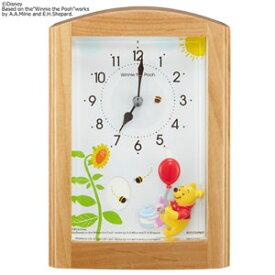 ■RHYTHM リズム時計【ディズニー くまのプーさん オルゴール目覚まし時計】4RM761MC06 [代引不可][後払い不可]【楽ギフ_包装選択】.