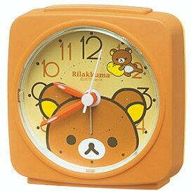 ■SEIKO[セイコー] 目覚まし時計 【リラックマ】 CQ153B [代引不可][後払い不可]【楽ギフ_包装選択】