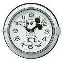 ■SEIKO[セイコー] 【大人ディズニー レトロ ミッキー】掛時計 モノクロ FS504W [代引不可]【楽ギフ_包装選択】