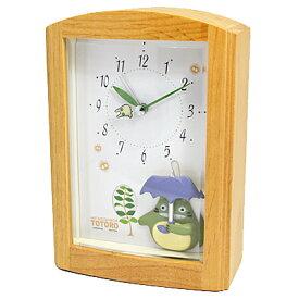 リズム時計【となりのトトロ】オルゴール目覚まし時計4RM752MN06 [代引不可][後払い不可]【楽ギフ_包装選択】