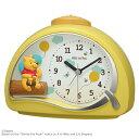 [在庫あり]■リズム時計 目覚まし時計【ディズニー くまのプーさん R561】クオーツ 4SE561MC33 [後払い不可]【楽ギフ_包装選択】.