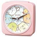 ■SEIKO[セイコー] 目覚まし時計 【すみっコぐらし】ピンクパールCQ156P [代引不可][...
