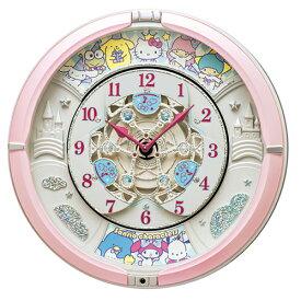 ■SEIKO セイコー サンリオ からくり時計 掛時計【サンリオキャラクターズ】メロディ30曲 CQ222P【楽ギフ_包装選択】.