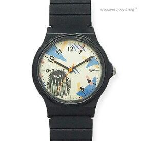 ■フィールドワーク ウォッチ 腕時計【MOOMIN ムーミン スティンキー カラフルラバーウォッチ】ブラック MOM-02-6 [代引不可]【楽ギフ_包装選択】
