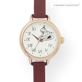 ■フィールドワーク ウォッチ 腕時計【MOOMIN ムーミン ミイ アンティークレザーウォッチ】レッド MOM-03-4 [代引不可]【楽ギフ_包装選択】
