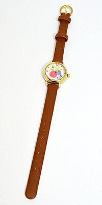 ■フィールドワークウォッチ腕時計【スヌーピー小丸キュートウォッチ】ブラウンPNT002-1[代引不可]【楽ギフ_包装選択】