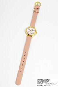 ■フィールドワークウォッチ腕時計【スヌーピー小丸キュートウォッチ】ピンクPNT002-3[代引不可]【楽ギフ_包装選択】
