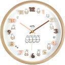 2021年6月下旬以降発売予定分■プラスト ティーズファクトリー■アイコンウォールクロック 掛時計【ミッフィー】ナ…