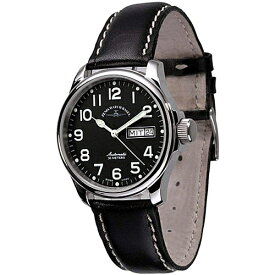 ■ZENO-WATCH BASEL[ゼノウォッチ バーゼル] メンズウォッチ 腕時計【Basic Pilot 自動巻き デイデイト】12836DD-a1【楽ギフ_包装選択】タスク