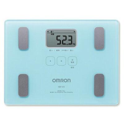 ■OMRON オムロン 体重体組成計 体重計【カラダスキャン】ブルー HBF-212-B【楽ギフ_包装選択】.