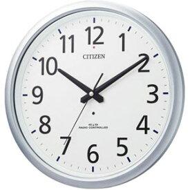 ■シチズン【スペイシーアクア493】電波掛時計 防水時計 8MY493-019 [代引不可]【楽ギフ_包装選択】