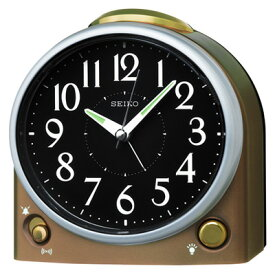 ◆SEIKO[セイコー] 【目覚まし時計】薄金色 KR502G [代引不可][後払い不可]【楽ギフ_包装選択】.