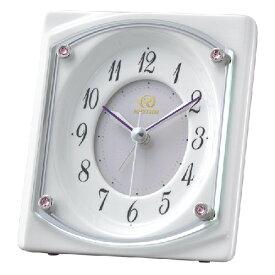 ■リズム時計 有田焼 磁器枠 クオーツ置時計【RHG-S73】目覚まし機能付き 4SE544HG03 [代引不可][後払い不可]【楽ギフ_包装選択】.