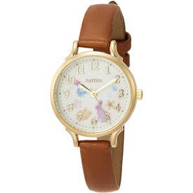 ■フィールドワーク 腕時計 ウォッチ【シロップ】うさぎ 花 フラワー ブラウン GY006-3 BR 【楽ギフ_包装選択】