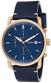 【中古】【輸入品・未使用】フォッシル(FOSSIL) メンズ 腕時計 THE COMMUTER CHRONO(コミューター) 【型番:FS5404】【ブルー×ブルー/**】