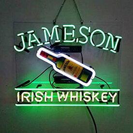 【中古】【輸入品・未使用】Jameson Irish WhiskeyビールバーパブStore担任パーティー壁Decor Neon Signs 19?x 15