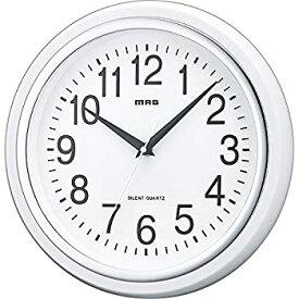 【中古】【輸入品日本向け】MAG(マグ) 掛け時計 非電波 アナログ 白マグ 直径27.4cm 連続秒針 ホワイト W-663WH-Z