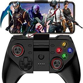 【中古】【輸入品・未使用】Mobile Game Controller Megadream Wireless Key Mapping Gamepad Joystick Perfect for PUBG & Fotnite & Call of Duty Compatible for iOS And