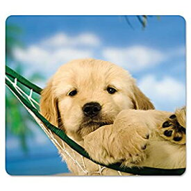 【中古】【輸入品・未使用】Recycled Mouse Pad Nonskid Base 7-1/2 x 9 Puppy in Hammock (並行輸入品)