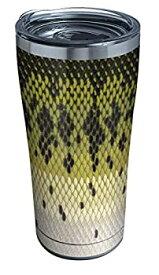 【中古】【輸入品・未使用】Tervis Largemouth Bass パターン 3重壁断熱タンブラー 20オンス ステンレススチール