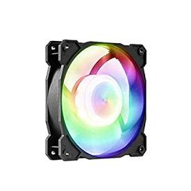 【中古】【輸入品・未使用】GELID SOLUTIONS Radiant-D (FN-RADIANTD-20) RGB LEDファン デジタルRGBコントローラー付き