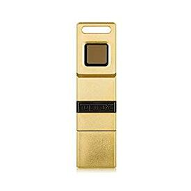 【中古】【輸入品・未使用】TOPMORE Phecda II 指紋暗号化フラッシュドライブ USB3.0 デュアルストレージ付き データセキュリティストレージ保護メモリースティック (16GB