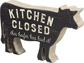 【中古】【輸入品・未使用】Primitives by Kathy Chunky Sitter Kitchen Closed Heifer Has Had It