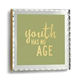 【中古】【輸入品・未使用】Demdaco Youth Has No Age Plaque