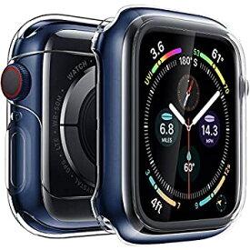 【中古】【輸入品・未使用】Penomケース Apple Watchスクリーンプロテクター シリーズ 4 40mm 44mm 超薄型 透明 iWatch 40mm 44mm スクリーンプロテクター フル保護TPUカバ