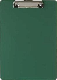 【中古】【輸入品・未使用】(Green) - OIC Low-profile Plastic Clipboard - 22cm x 28cm - Low-profile - Plastic - Green