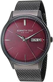 【中古】【輸入品・未使用未開封】Kenneth Cole New York メンズ クラシッククォーツ ステンレススチール カジュアルウォッチ (KC50589007/04/05/01) グレー