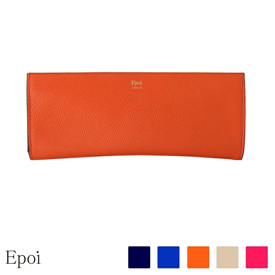 【Epoi】 エポイ Zacca ザッカ レディース 眼鏡ケース レディース 日本製 ピンク/グレー/ブルー/ネイビー/オレンジ