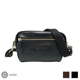 【GANZO】 ガンゾ 7QS-H ミニショルダーバッグ メンズバッグ