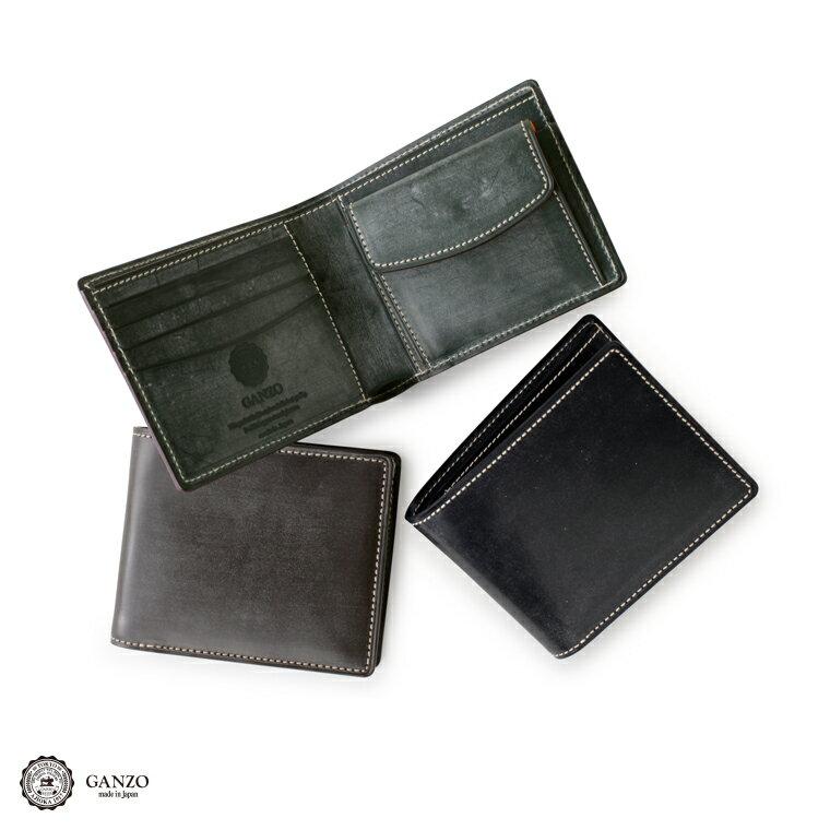 GANZO ガンゾ Bridle Casual ブライドルカジュアル 2つ折り財布