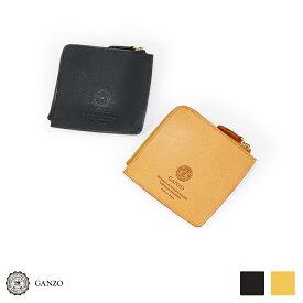 【GANZO】 ガンゾ Minerva Natural ミネルバナチュラル ZIPパース フラグメントケース 日本製 財布 メンズ