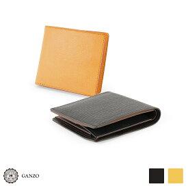 【GANZO】 ガンゾ Minerva Natural ミネルバナチュラル 二つ折り財布(新型)