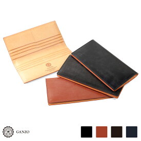 【GANZO】 ガンゾ THIN BRIDLE シンブライドル ブライドル 財布 さいふ サイフ 日本製 メンズ 長財布 レザー 牛革 ブラック ヘーゼル ダークブラウン ネイビー